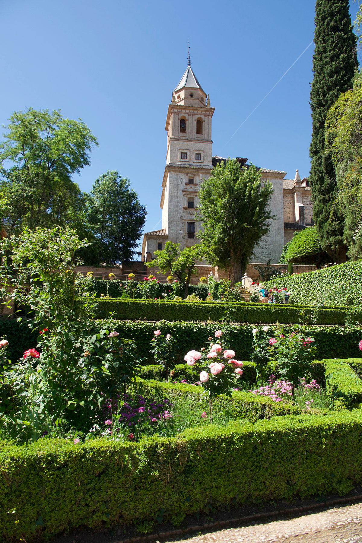 Eine Station meines Reiseromans ist die Alhambra von Granada