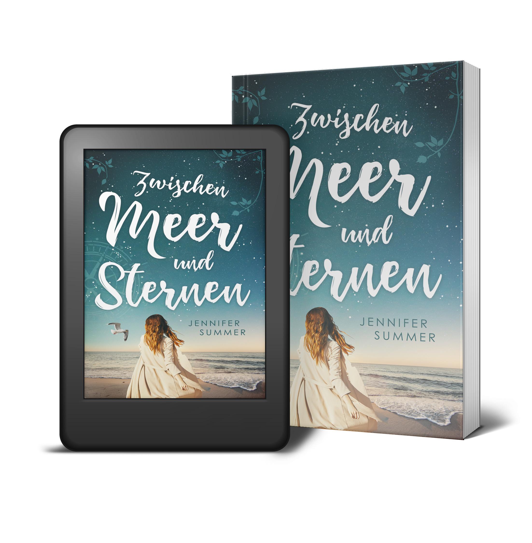 E-Book Taschenbuch Reiseroman Zwischen Meer und Sternen